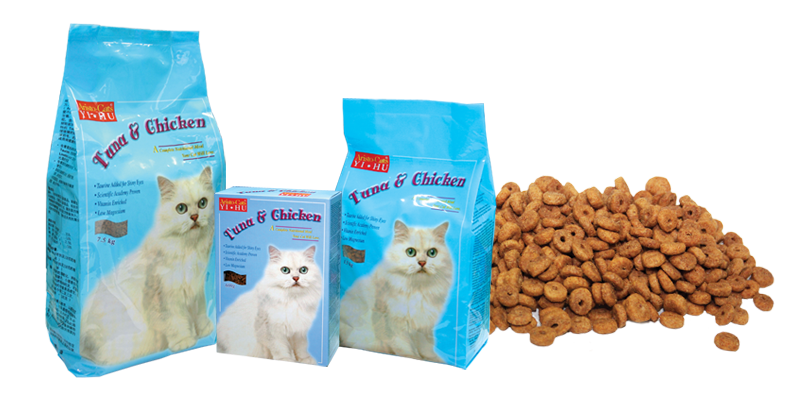 pet cat-dry food
